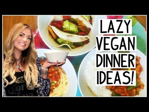 Lazy Vegan Dinner Recipes! [DANI LAUREN]