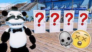 PANDA FREDDY DON'T PICK THE WRONG DOOR OR YOU'LL DIE! (GTA 5 Mods For Kids FNAF RedHatter)