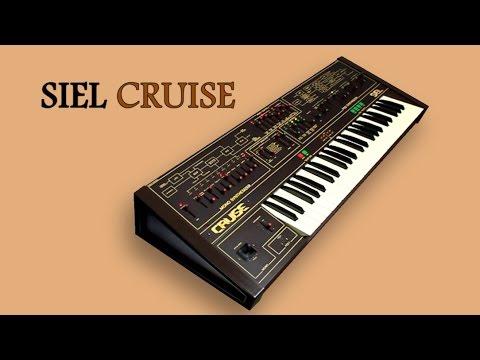SIEL CRUISE Analog Synthesizer 1979 | HD DEMO