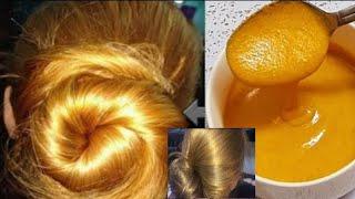 👍💛Tiñe tu cabello de rubio dorado con ingredientes naturales sin agua oxigenada y cobertura de canas