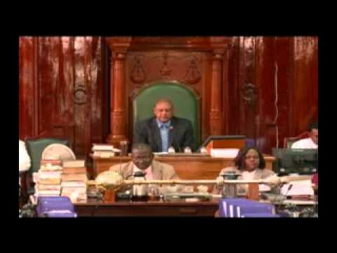 This is what APNU/AFC has reduced Parliament to -- Bang desks, disrupt Manickchand, ignore Speaker