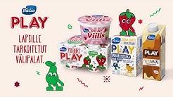 Valio Play® lapsille tarkoitetut välipalat