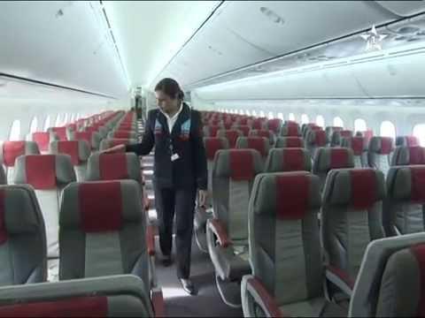 Maroc réception du 1er Boeing 787 Dreamliner  sur 5 commandés