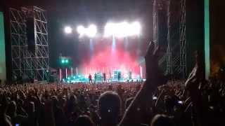 Placebo - Final Part of Live in Moscow - 4 july 2015 @Green Theatre