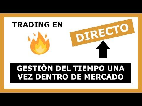 ╠► TRADING en DIRECTO ◄╣ AGOTANDO TIEMPO durante UN TRADE [ NASDAQ NQ ]