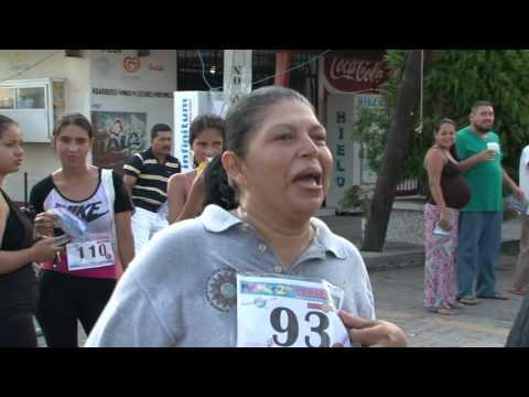 3rd 5K Carrera (Foot Race) in Barra de Navidad Mexico HD