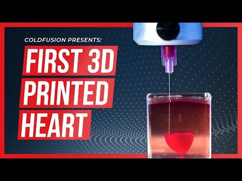Maddox - World First - 3D Printed Human Heart!