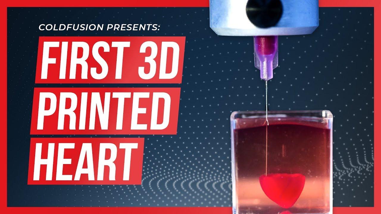 Scientists 3D Print Human Heart!