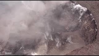Kīlauea Volcano — Halema'uma'u Crater Changes