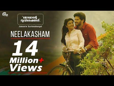 Jomonte Suviseshangal | Neelakasham Video Song | Dulquer Salmaan,Aishwarya Rajesh | Official