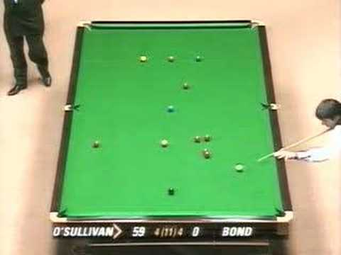 Ronnie O'Sullivan hits quickfire 128 at B&H Masters 1996