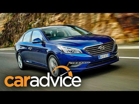 Hyundai Sonata Review 2015 CarAdvice