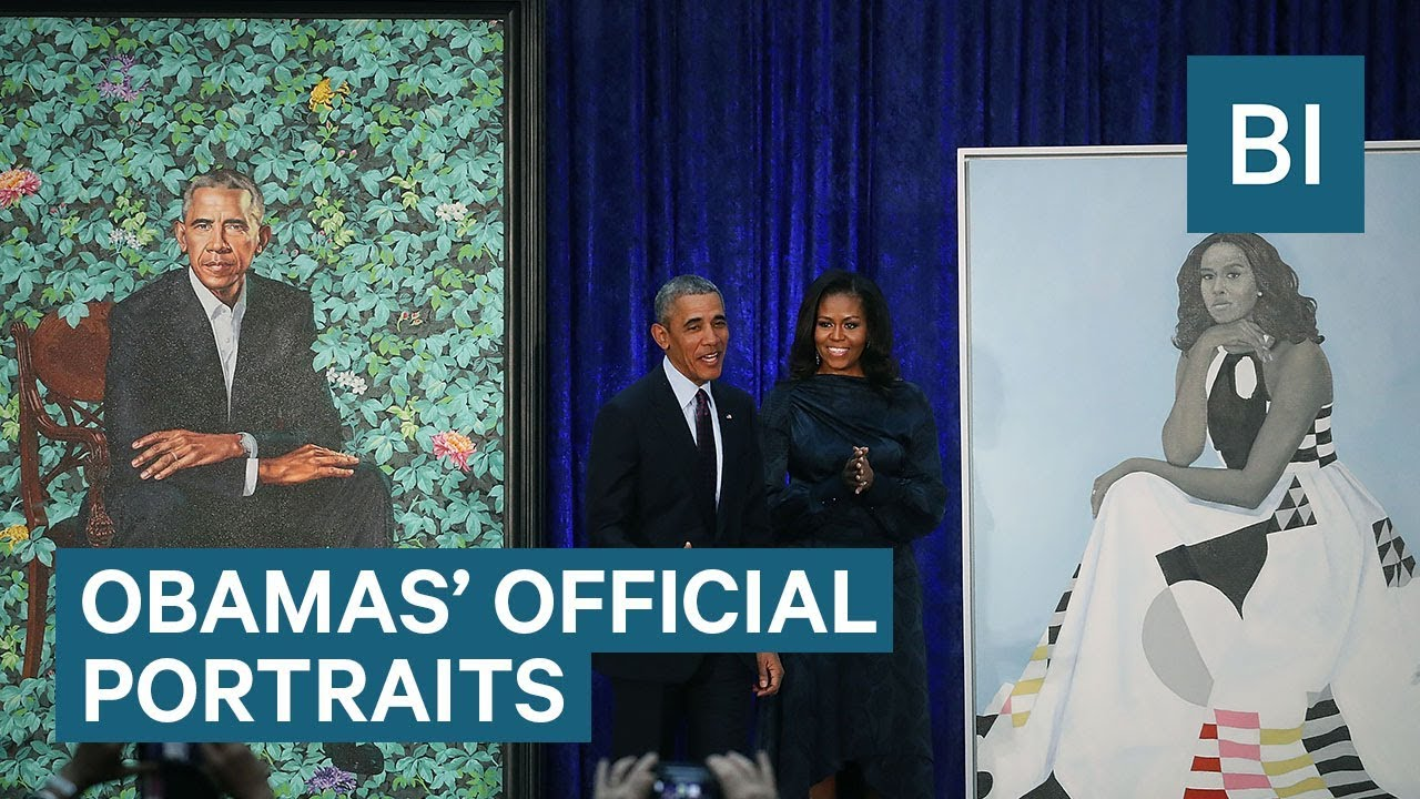 The Smithsonian Reveals The Obamas' Official Portraits —  And How Twitter Reacted