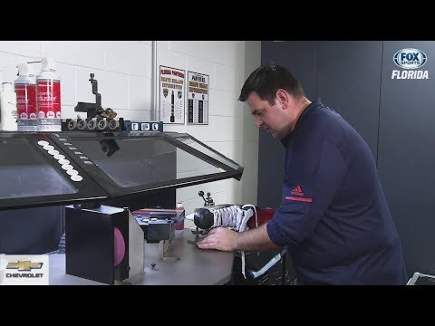 Hockey 101: A Lesson On Skate Sharpening
