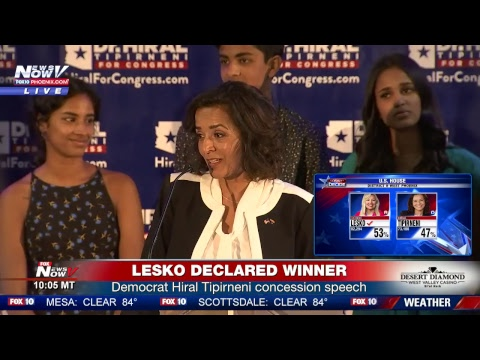 LIVE: AZ congressional district 8 special election coverage - Debbie Lesko (R) v Hiral Tipirneni (D)