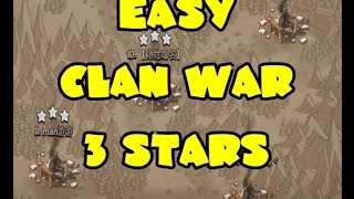 #21 | TH9 Lavaloon and Hogs | EASY 3 Star Attacks Clash of Clans Clan Wars