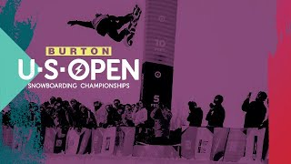 Be Part of History at the 2020 Burton U·S·Open Snowboarding Championships