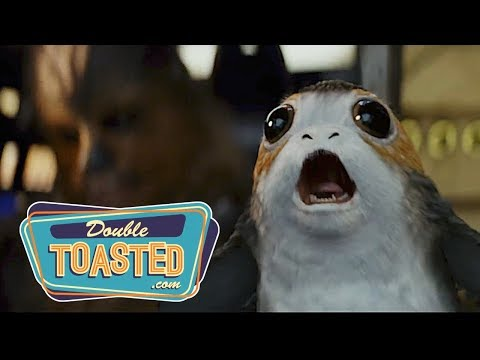 Thumbnail: STAR WARS THE LAST JEDI OFFICIAL TRAILER #2 REACTION - Double Toasted