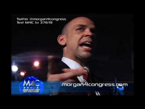 Morgan4Congress Kickoff Event in Harlem