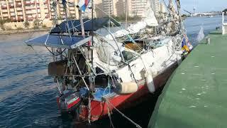 Лодка, которая пересекла Атлантику 55 раз видео взято у SHAMAN ADVENTURES