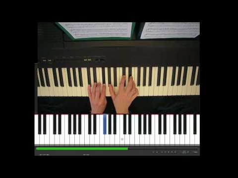 Skinny Love, Birdy, piano part, tutorial - YouTube