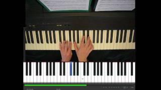 Skinny Love, Birdy, piano part, tutorial