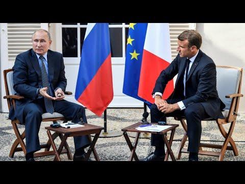 ماذا قال الرئيس الفرنسي ماكرون بشأن معارك إدلب أمام بوتين؟  - نشر قبل 2 ساعة