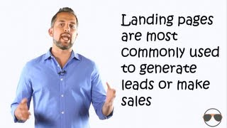 What is a landing page / squeeze page and how do I generate more leads  - by Videospot