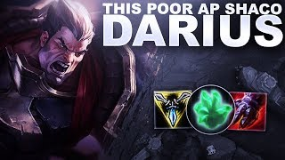 THIS POOR AP SHACO MEETS MY DARIUS! | League of Legends