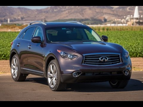 2015 Infiniti QX70 Start Up and Review 3.7 L V6