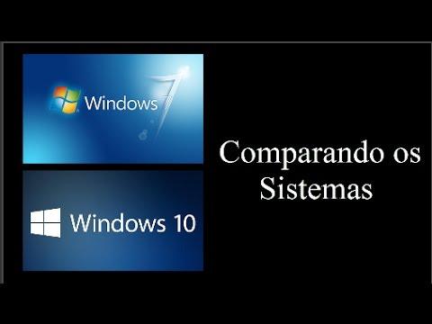 Windows 7 x Windows 10 - Comparação
