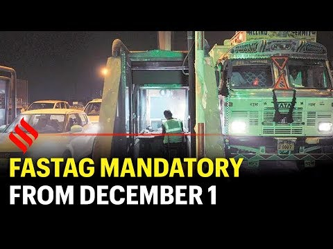 FASTag mandatory from December 1: How to get it, what it does and more