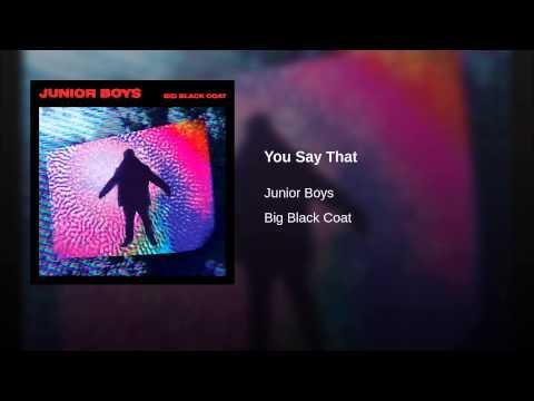 Interview: Junior Boys Don Their Big Black Coat – XLR8R