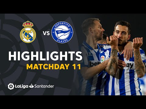 Real Madrid Alaves Goals And Highlights