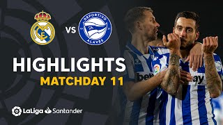 Highlights Real Madrid vs Deportivo Alavés (1-2)