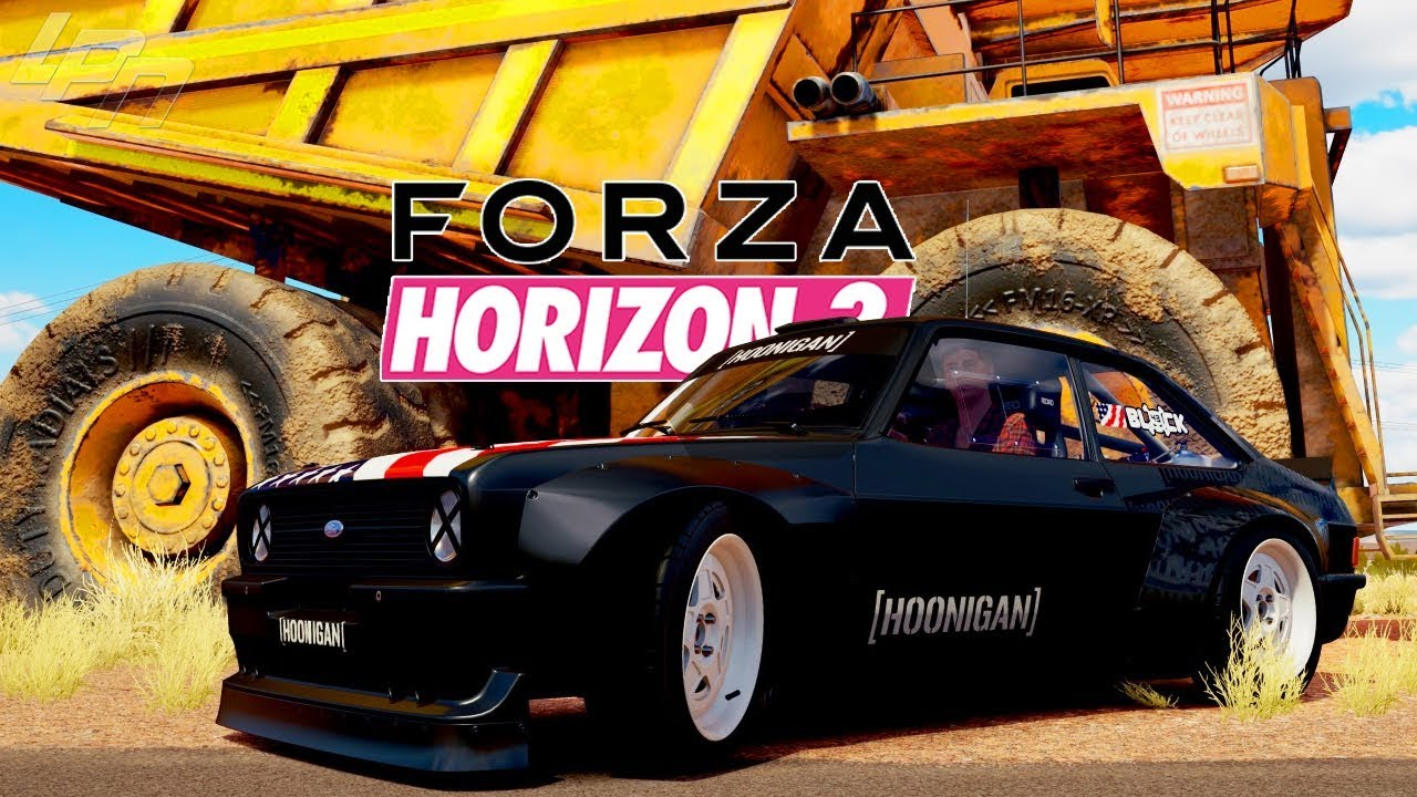Hoonigan Mustang Forza Horizon 3