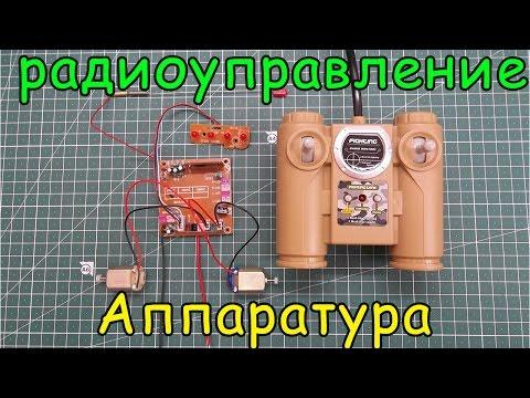 Аппаратура радиоуправления бюджетная