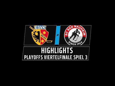 DEL2 Highlights Playoffs Viertelfinale Spiel 3 | ESV Kaufbeuren vs. EC Bad Nauheim
