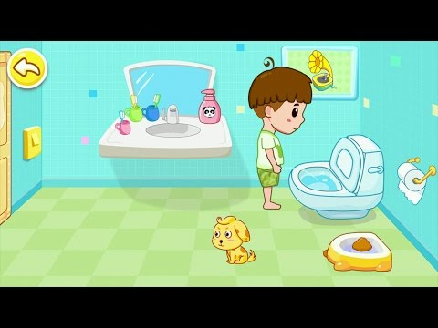 Toilet Training - Baby's Potty Android Gameplay #2