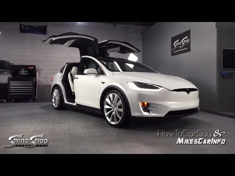 2016 / 2017 Tesla Model X 90D Full Feature How-To & Review