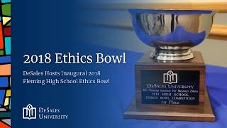 2018 Fleming High School Ethics Bowl at DeSales University