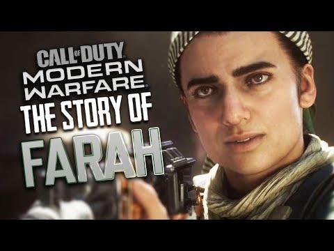 The Story of Farah - Call of Duty: Modern Warfare // ALL Farah Scenes