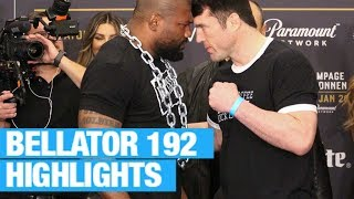 Bellator 192 results & highlight video | Rory MacDonald vs Douglas Lima | Rampage vs Sonnen