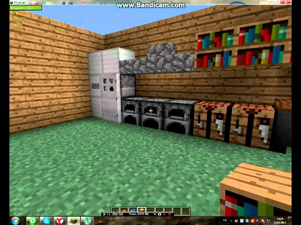 Как сделать кухню в майнкрафте фото 600