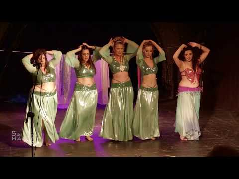 "Yael Becker and students Theatrical Bellydance ""Cinderella in Cairo"""