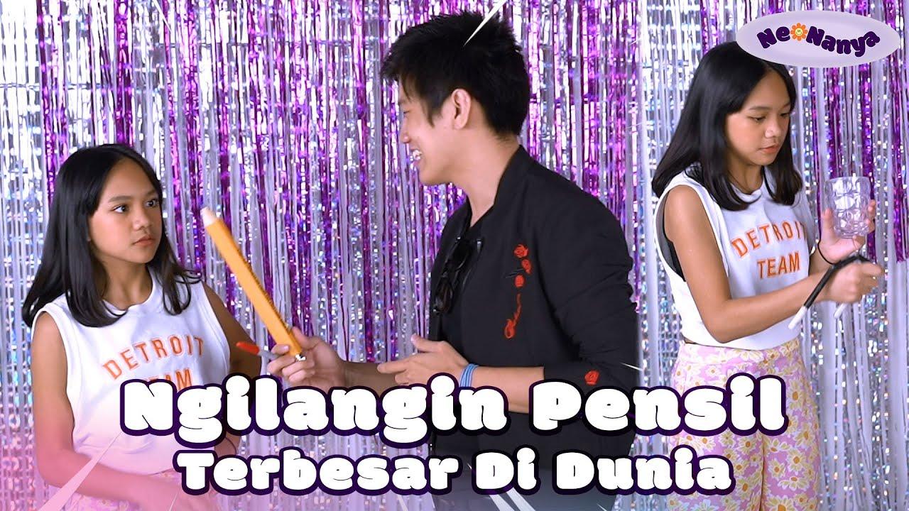 Neona Bisa Sulap! Ngilangin Pensil Terbesar di DUNIA | NeoNanya Eps. 1-2
