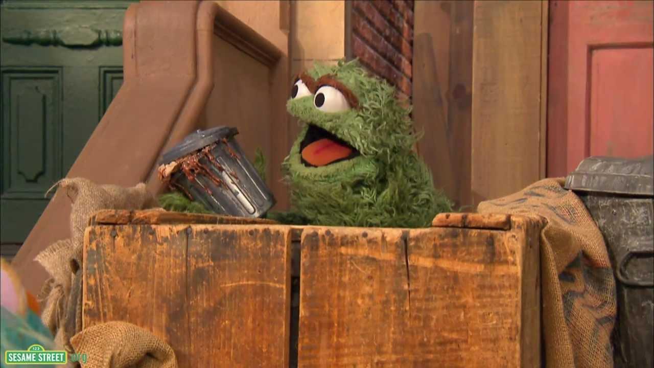 Sesame Street: The Gross Grouch Song With Oscar
