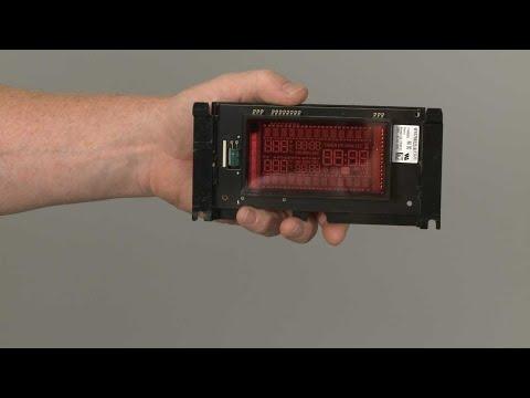 Display Board - Kitchenaid Electric Slide-In Range Model #KSEB900ESS2