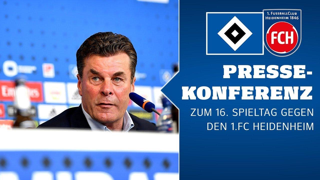 RELIVE: Die Pressekonferenz vor Heidenheim