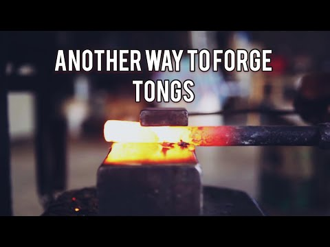 Another way to make tongs